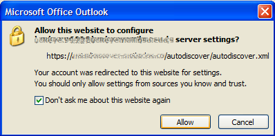 allow website to configure server settings